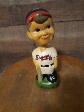 Atlanta Braves Boy Vintage Bobblehead Nodder Mascot