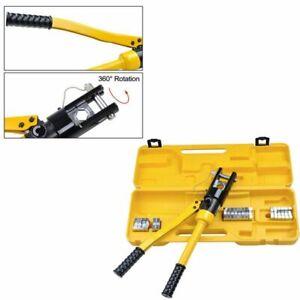Hydraulische Presszange Crimpzange 10 bis 300 mm² Quetschzange Kabelschuhe Zange