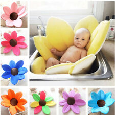 Bath Mat Tub Newborn Supplies Folded Petals Sunflower Bathing Play Comfortable