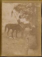 LE CAIRE c. 1900 - Soldat Egyptien Egypte - aa934