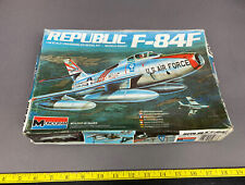 Monogram 1/48th scale USAF Republic F-84F Thunderjet Airplane Model Kit
