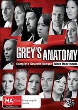 Grey's Anatomy : Season 7 (DVD, 2011, 6-Disc Set)