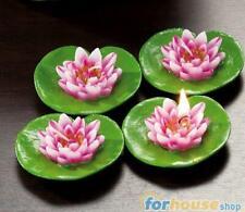 Candele galleggianti 4 pezzi fior di loto Ad trend
