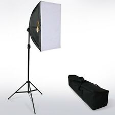 Boîte à lumière softbox éclairage studio photo revêtement blanc trépied NEUF