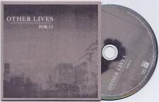OTHER LIVES For 12 UK 2-trk promo CD card sleeve album/edit versions
