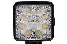 """Police Lightz - 4"""" Square 24-Watt (2000 Lumens) LED Work Light - White"""