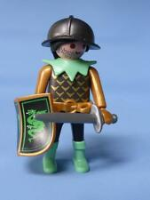 Playmobil Green Dragon Knight with Shield & Sword RARE Figure - Castle / Palace