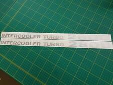 Mitsubishi Delica l300 Intercooler Turbo 2800 Décalques Stickers Fit Pajero Shogun
