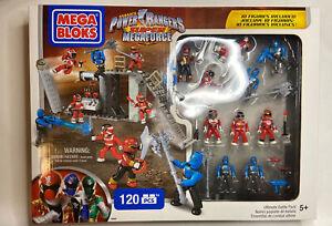 Mega Bloks - Power Rangers Super Megaforce Ultimate Battle Pack 120 PCS Rare!