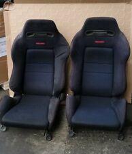HONDA INTEGRA TYPE R DC2 OEM RECARO SEATS WITH RAILS