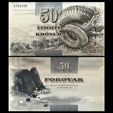 Faeroe Faroe Islands 50 Kronur, 2001, P-24, UNC