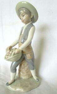 Lladro/Nao Young Boy potato picking