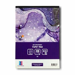 Art Spectrum Yupo Paper Pad A4 410gsm 10 Sheets