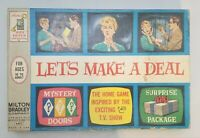 VINTAGE 1964 MILTON BRADLEY BOARD GAME LET'S MAKE A DEAL , COMPLETE! NICE!