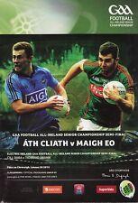 GAA 2015 Dublin v Mayo - Senior Football Championship Semi-Final Programme