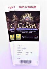 Bath v Leicester Tigers 07/04/17 Twickenham Rugby Union Memorabilia / Tickets