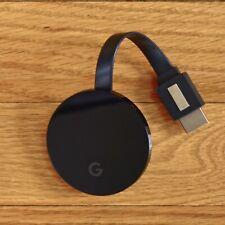 Neues AngebotGoogle Chromecast Ultra Digital Media Streamer - Schwarz