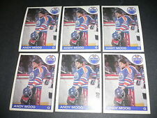 1985-86 Andy Moog 5th Year '85 O-Pee-Chee OPC #12 NHL Hockey LOT of 6 Card NM EX