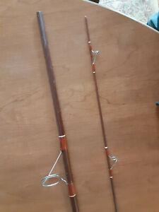 "Vintage Fenwick, 2 Piece Spinning Rod with ""broken tip"""