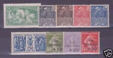FRANCE STAMP YVERT N° 269 / 277  ANNEE COMPLETE 1931 ,  9 TIMBRES NEUFS  xx TTB