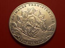 World Coin  Peso , 1994 , Stegosaurus, PREHISTORIC ANIMAL SERIES, KM#438