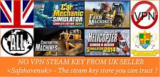 Car Mechanic Simulator 2014 + 3 PLAYWAY'S SIM Steam key RegionFree UK NOVPN