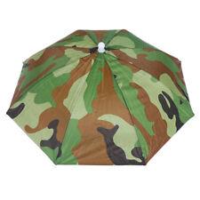 1pc Umbrella Hat Waterproof Outdoor Camping Hiking Fishing Foldable Cap BI