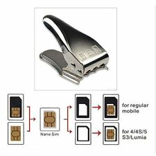 New Sim Cutter 3 in 1 Sim Micro Nano Sim Card Cutter For all Mobile Sims