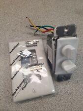 FAN/LIGHT DIMMER CONTROL W/ PLATE 94215WV