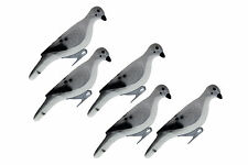 Hard Core HC Dove Decoy 5 Pack Fully Flocked Morning Dove Hunting Waterfowl New