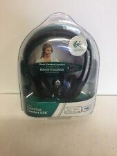 Logitech ClearChat Comfort USB Padded Headset Digital Audio Microphone Skype NIP