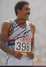 DALEY THOMPSON Olympia 13x18 signiert IN PERSON Autogramm signed RAR