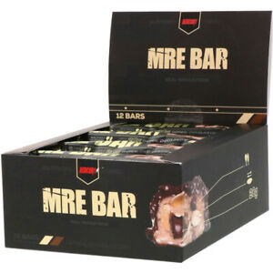 Redcon1 | MRE Bar - Meal Replacement, Protein | Oatmeal Chocolate Chip, 12 Bars