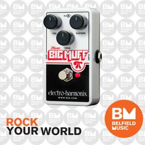 Electro-Harmonix EHX Nano Big Muff PI Distortion Fuzz Overdrive Effects Pedal FX