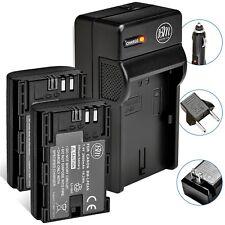 Bm 2 Lp-E6N Batteries & Charger for Canon Eos-R 60D, 70D Eos 80D C700 Xc10 Xc15