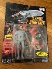 New 1995 Playmates Classic Star Trek Commander Spock Action Figure TOS New