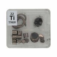 Titanium Metal Wire Powder Pellets Foil Quad Element Tile Pure - Periodic Table