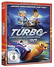 TURBO, Kleine Schnecke, großer Traum (Blu-ray 3D + Blu-ray Disc) NEU+OVP