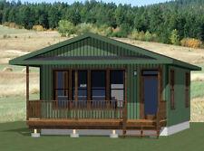 20x32 Tiny House - 640 sqft - Pdf FloorPlan - Model 2F