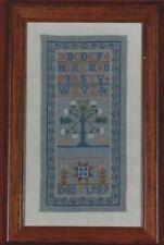 """Oak Tree Sampler"" DARLENE O'STEEN The Needle's Prayse Leaflet ©1991 OOP/NLA"