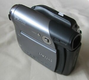 Samsung VP-DC171W Video Camera Camcorder Mini DVD - No Charger Dead Battery