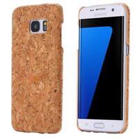 Samsung Galaxy S7 Edge G935 SUGHERO CASO LEGNO NATURA HARD CASE COVER