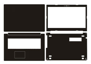 "Laptop Sticker Skin Decal Carbon fiber Cover for Lenovo Ideapad 320-17IKB 17.3"""