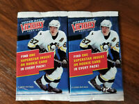 2007-08 Upper Deck Victory hockey packs - 2 pk lots = 12 cards!  see details!!