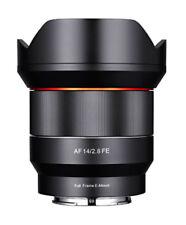 Samyang Camera Lenses for Sony 14mm Focal