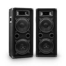SUPER AUNA PA BASS BOXEN SET DJ MUSIK STUDIO EQUIPMENT STEREO SOUND BESCHALLUNG