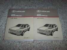 2000 Lexus LS400 Sedan Shop Service Repair Manual 4.0L V8