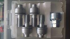 4 M12 x 1,25 35mm PEUGEOT verrouillage roue en alliage boulons plat siège laveuse 406 407 607