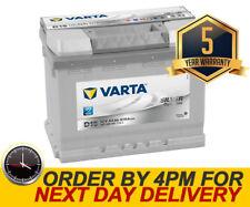 Varta D15 Heavy Duty 027 Car Battery 63AH 12V - 5 Yr Wty - Citroen Dacia Fiat