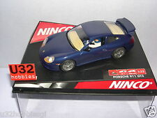 NINCO 50234 SLOT CAR PORSCHE GT3 ROAD CAR BLEU MB